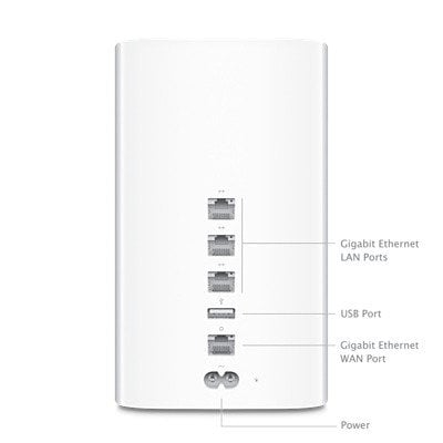 Apple AIRPORT-TIMECAP-3TB 3TB Airport Time Capsule Wireless Backup Solution AIRPORT-TIMECAP-3TB