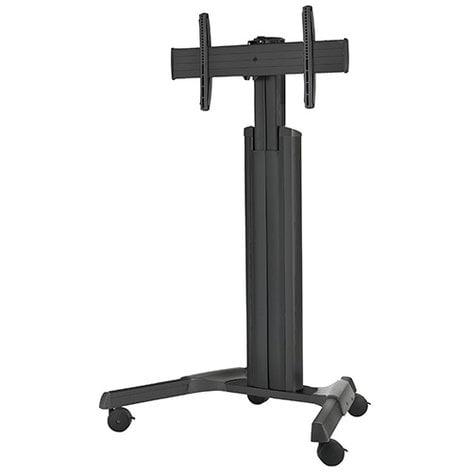 Chief Manufacturing LPAUB Large FUSION Manual Height Adjustable Mobile Cart LPAUB