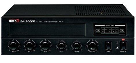 Inter-M Americas Inc PA-1000B 30-Watt PA Mixer Amplfier PA-1000B