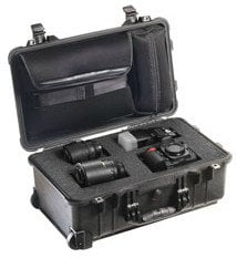 Pelican Cases PC1510LFC Laptop Overnight Case with Foam in Base PC1510LFC