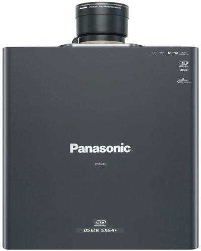 Panasonic PT-DS12KU Professional SXGA+ 3D 3DLP Projector, 12,000 Lumens (No Lens Included) PTDS12KU