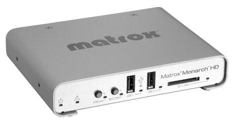 Matrox Monarch HD HD Professional Video Streamer and Recorder MONARCH-HD