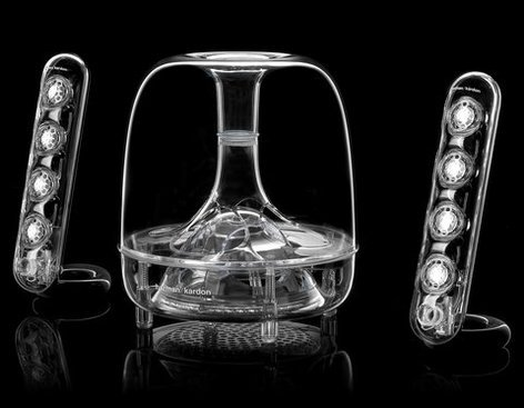 Harman Kardon SoundSticks III 3-Piece Multimedia Speaker System SOUNDSTICKS-III