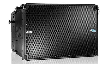 "DB Technologies DVA T12 12"" 350W 3-Way Active Line Array Speaker DVA-T12"