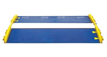 Checkers CPRP-5GD-BLU  Pair of GuardDog 5-Channel CrossGuard Ramp Attachments in Blue CPRP-5GD-BLU