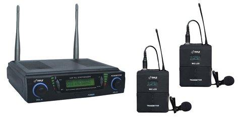 Pyle Pro PDWM3700 Dual Channel Wireless Microphone System PDWM3700