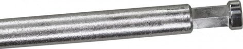 """Kupo KG203711 40"""" Hex Grip Arm with Big Handle in Silver Finish KG203711"""