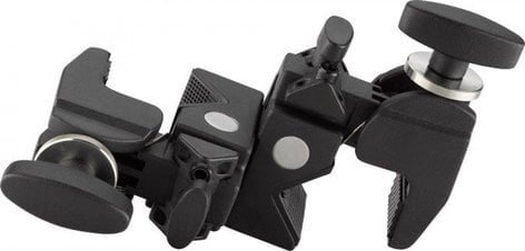 Kupo KG702311  Black Double Convi Clamp KG702311