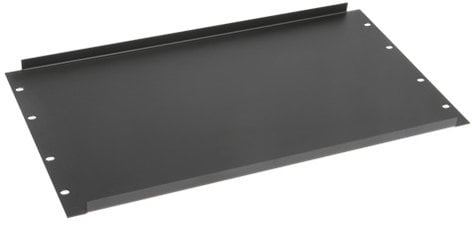 Atlas Sound SPR6  6 RU Black Recessed Blank Panel SPR6