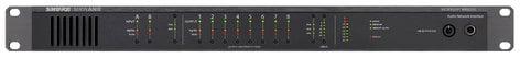 Shure MXWANI8 Microflex Wireless 8-Channel Audio Network Interface MXWANI8
