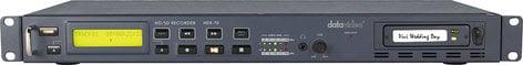 Datavideo Corporation HDR-70  HD/SD-SDI Hard Drive Video Recorder HDR-70