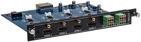 Intelix FLX-HI4A  4-Port HDMI Input Card for FLX-88, FLX-1616, FLX-3232 FLX-HI4A