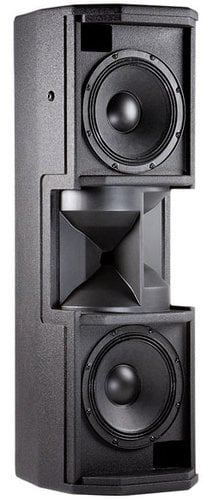 """JBL CWT128-WH Dual 8"""" 2-Way Loudspeaker System in White with Crossfired Waveguide Technology CWT128-WH"""