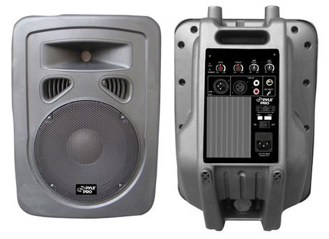 """Pyle Pro PPHP1098A  600W 10"""" 2-Way Active Plastic-Molded Speaker System PPHP1098A"""