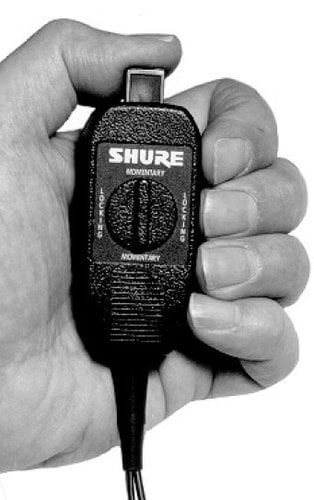 Shure WA360 In-Line Mute Switch with TA4F WA360