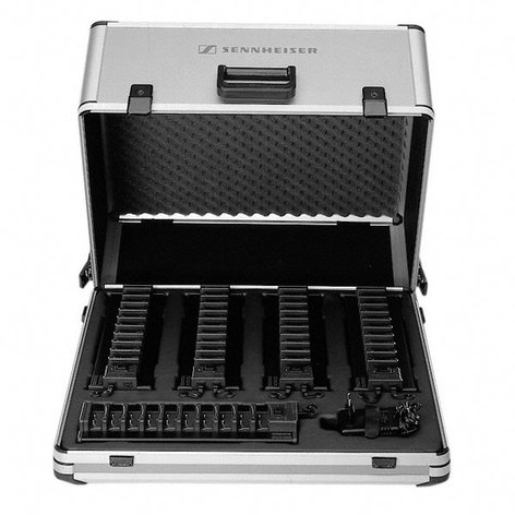Sennheiser L 29-50-2/NT Charging Case for 50x HDI 1029 Stethoset Receivers with NT2013-120 Power Supply L29-50-2/NT