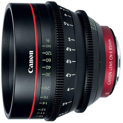 Canon 6571B001  Cinema Prime CN-E85mm T1.3 L F EF Mount Lens 6571B001