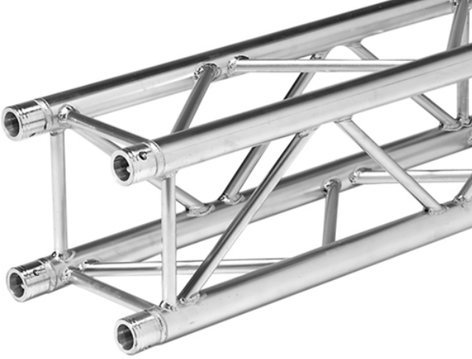 Global Truss SQ-4112-275 9.02 ft. Square Truss Straight Segment SQ4112-2.75