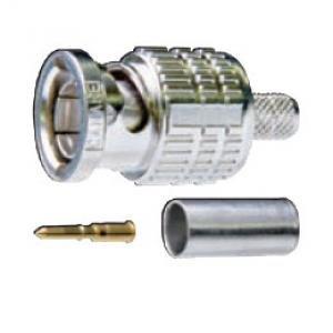 Canare BCP-A25F  75 Ohm BNC Crimp-Type Plug Connector for L-2.5CFB BCP-A25F