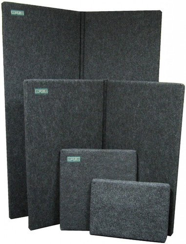 Clearsonic SP20-CLEARSONIC StudioPac 20 Sorber Acoustic Panel Kit in Dark Grey SP20-CLEARSONIC