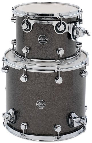 "DW DRPFTMPK02G Performance Series 2G Tom Pack in FinishPly Finish: 8""x12"", 14""x14"" Toms DRPFTMPK02G"