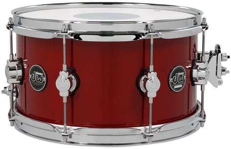 """DW DRPL0713SS 7"""" x 13"""" Performance Series Snare Drum in Lacquer Finish DRPL0713SS"""
