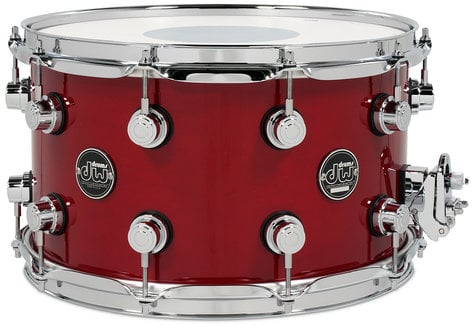 """DW DRPL0814SS 8"""" x 14"""" Performance Series Snare Drum in Lacquer Finish DRPL0814SS"""