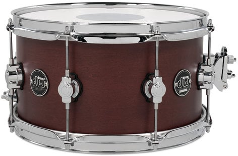 """DW DRPS0713SSTB 7"""" x 13"""" Performance Series Snare Drum in Tobacco Stain DRPS0713SSTB"""