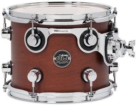 """DW DRPS0810STTB 8"""" x 10"""" Performance Series Rack Tom in Tobacco Stain DRPS0810STTB"""