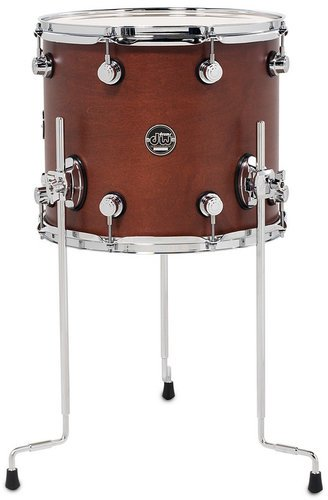 "DW DRPS1214LTTB 12"" x 14"" Performance Series Floor Tom in Tobacco Stain DRPS1214LTTB"