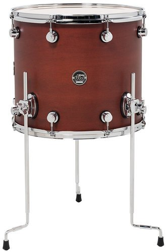 """DW DRPS1416LTTB 14"""" x 16"""" Performance Series Floor Tom in Tobacco Stain DRPS1416LTTB"""