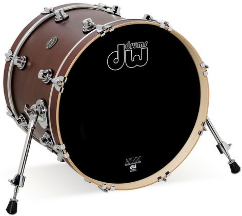 """DW DRPS1620KKTB 16"""" x 20"""" Performance Series Bass Drum in Tobacco Stain DRPS1620KKTB"""