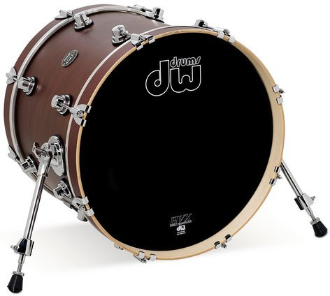 """DW DRPS1822KKTB 18"""" x 22"""" Performance Series Bass Drum in Tobacco Stain DRPS1822KKTB"""