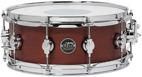 "DW DRPS5514SSTB 5.5"" x 14"" Performance Series Snare Drum in Tobacco Stain DRPS5514SSTB"