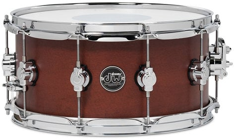 "DW DRPS6514SSTB 6.5"" x 14"" Performance Series Snare Drum in Tobacco Stain DRPS6514SSTB"