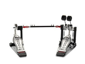 DW DWCP9002XF  Double Kick Pedal with Extended Footboard DWCP9002XF
