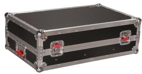 Gator Cases G-TOUR-SLMX10  ATA Tour Style 10U Slant Top Mixer Case with Fixed Rail G-TOUR-SLMX10