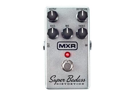 MXR Pedals M75 Super Badass Distortion FX Pedal M75-MXR