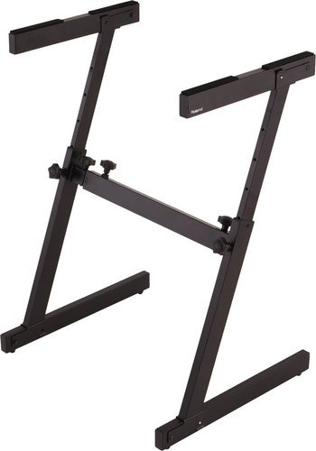 Z-Frame Keyboard Stand in Black by Roland, KS-18Z | Full Compass Systems
