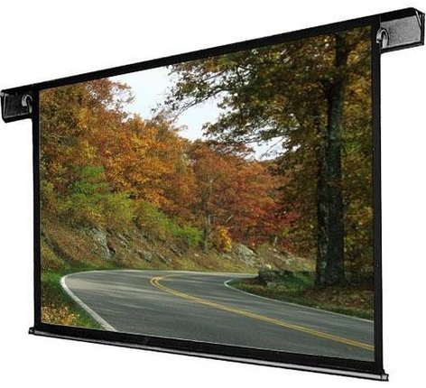 """Draper Shade and Screen 112022  133"""" Envoy Electric Matt White Projector Screen in HDTV Format 112022"""