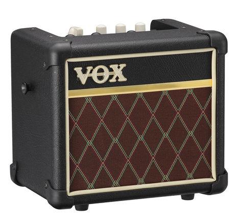 "Vox Amplification MINI3 G2-CL 3W 1x5"" Miniature Modeling Amplifier with Diamond Grille Cloth MINI3G2CL"