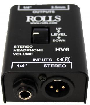 Rolls HV6  Headphone Volume Control  HV6