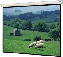 """Da-Lite 96391L 106"""" x 188"""" Large Cosmopolitan Electrol® Matte White Screen with LVC 96391L"""