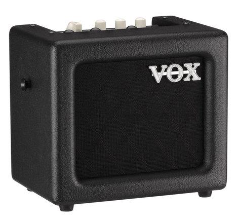 "Vox Amplification MINI3G2BK 3W 1x5"" Miniature Modeling Amplifier in Black MINI3G2BK"