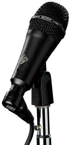 Telefunken Elektroakustik M80-SHB Short Style Body Dynamic Cardioid Microphone with Black Grille M80-SHB