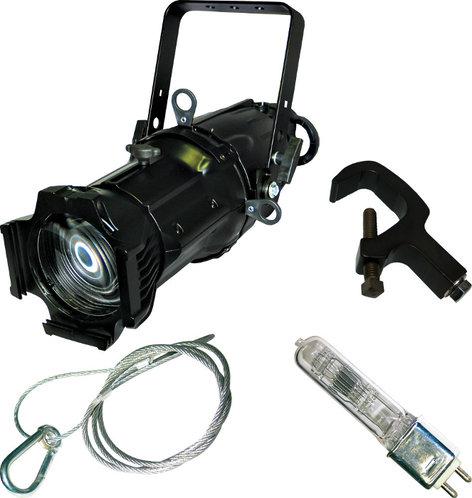 Lightronics Inc. FXELP50C 50° Ellipsoidal Fixture in Black FXELP50C
