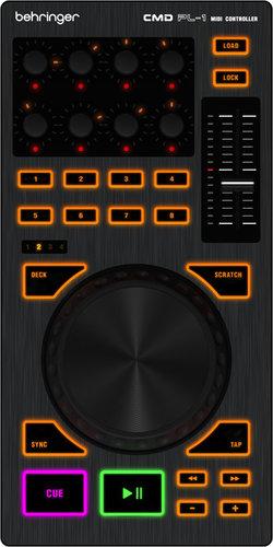 "Behringer CMD PL-1 4"" DJ Platter Controller CMDPL1"