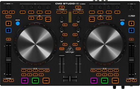 Behringer CMD Studio 4A 4 Channel DJ Controller/Interface CMDSTUDIO-4A