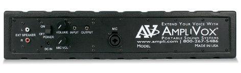 AmpliVox SW1234 Powered Line Array Speaker with Wireless Microphone SW1234