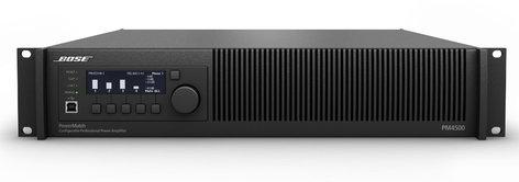 Bose PM4500N 4-Channel 2000-Watt Power Amplifier with Networking PM4500N